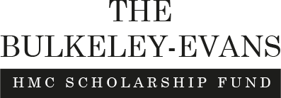 Logo of the Bulkeley-Evans HMC Scholarship Fund